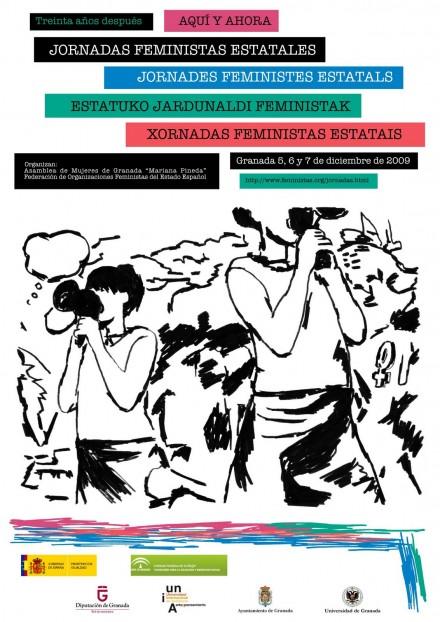 2009 · Jornadas Feministas Estatales Granada