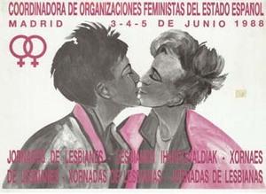 1988 · II Jornadas de lesbianas