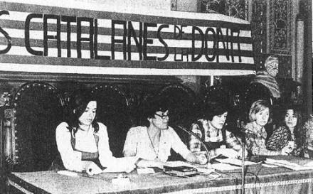 1976 · I Jornades Catalanes de la Dona