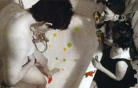 """Menstruosidades"". Serie fotográfica. 2.2 1994-95. LSD."