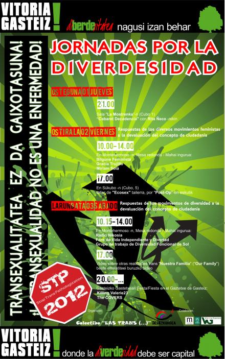 2012 · Jornadas por la diverdesidad